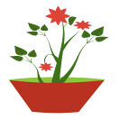 gsagri04 flower-pot5 icon (kwippe) Tags: icons clipart vector