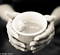 Health & Well Being (Flip the Script) Tags: macro tea hands still life professional photographer monochrome black white mood texture bokeh stock herbal 7dwf