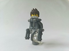 Grey Ghost (FANTXTIK Contest entry) (explored) (slight.of.brick) Tags: lego minifig superhero grey ghost