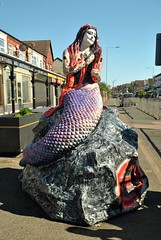 The Black Rock Mermaids - No.3 The Rock On Mermaid. (Kay Bea Chisholm) Tags: statue 2017 seabankrd wallasey newbrighton mermaidtrail blackrockmermaids therockonmermaid