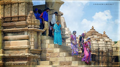 Kahurajo 4 (rokobilbo) Tags: khajuraho india sculpture ancient time stone tradition meaning customs people