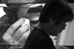 LISTEN (ajpscs) Tags: ajpscs japan nippon 日本 japanese 東京 tokyo city people ニコン nikon d750 tokyostreetphotography streetphotography street 2017 shitamachi monochromatic grayscale monokuro blackwhite blkwht bw blancoynegro strangers ginza blackandwhite monochrome urban othersideoftokyo walksoflife 白&黒 streetoftokyo thisisjapan listen