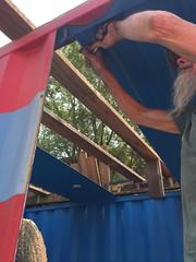 Sea container rehab