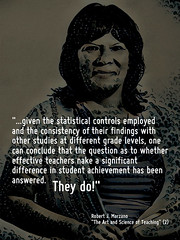 Educational Postcard: Research shows that effective teachers do make a difference (Ken Whytock) Tags: statistical controls research elementary grades findings studies grade levels conclude teachers students effective significant studentachievement achievement