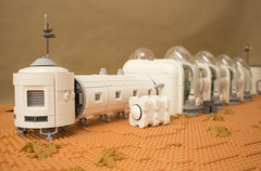 Arsia Prime | 6 (eldeeem) Tags: lego mars colony settlement greenhouse vegan rover flesh nougat exploration science scifi