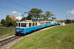 MOB ABDe 8/8 4002 Vaud au Châtelard (eisenbahnfans.ch) Tags: 2213 4002 abde88 chal château châteauduchâtelard châtelard mob regio regionalzug trainrégional vaud zwmx