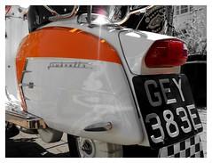 Photo of Scooter 2 colour splash