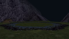 Poisoned Pond (BarricadeCaptures) Tags: kings quest mask eternity kingdom daventry swamp witch poison pond unicron pathetic beast water video game screen capture screenshot screencap