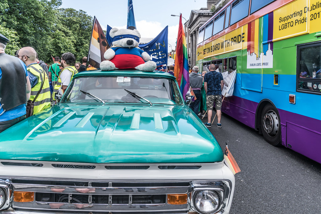 LGBTQ+ PRIDE PARADE 2017 [STEPHENS GREEN BEFORE THE ACTUAL PARADE]-129747