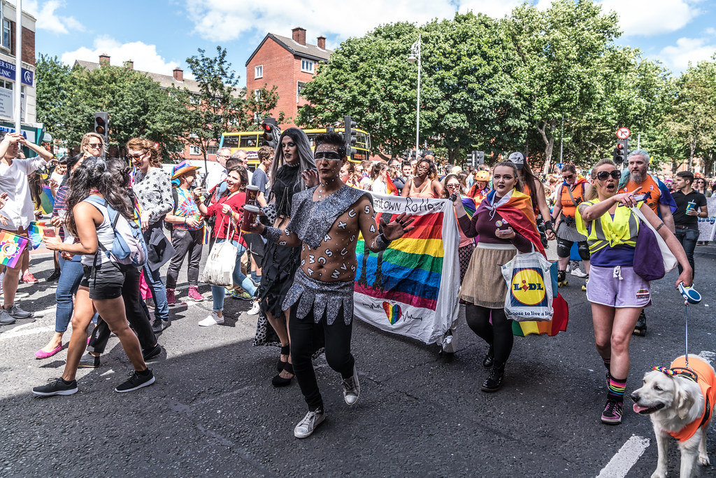LGBTQ+ PRIDE PARADE 2017 [ON THE WAY FROM STEPHENS GREEN TO SMITHFIELD]-130149