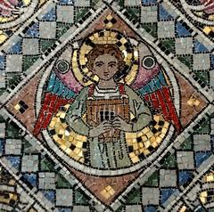 [51469] Holton Beckering : Reredos (Budby) Tags: holtoncumbeckering lincolnshire church altar reredos mosaic westlindseychurchesfestival