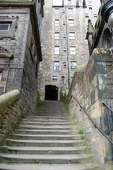 Edinburgh (mademoisellelapiquante) Tags: edinburgh scotland uk unitedkingdom greatbritain staircase stairs