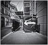 Cámara Estenopeica (Pinhole Camera) (Black and White Fine Art) Tags: aristaedu400 pinhole6214x214 pinhole03mm niksilverefexpro2 lightroom3 camaraestenopeica pinholecamera pinhole esteno streetphotography fotografiacallejera sanjuan oldsanjuan viejosanjuan puertorico bn bw