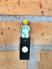 Ring the Bell (AbdullahIsABeast5) Tags: lego hi doorbell bricks outside pretty