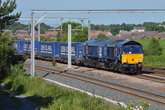 Not A Lidl Tesco Train (studogs30) Tags: drs 66305 greenhill 4d47 1305invernesstomossend tesco