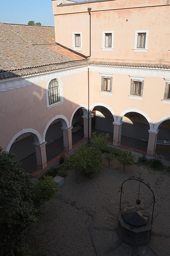 Our hotel, formerly a Franciscan convent