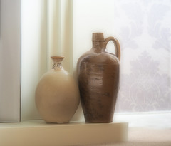 Pots (Smiffy'37) Tags: pots stilllife softfocus mutedcolours harmony minimal fineart