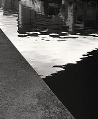 Canal Abstract º (CactusD) Tags: banbury canal banburycanal narrowboat boats narrowboats oxfordshire england nikon d800e fx texture uk unitedkingdom gb greatbritain great britain united kingdom mamiya rz67 film 120 detail details 200mmf4micro 200mm f4 micro macro digitized 110mmf28 6x7 monochrome blackandwhite black white bw ilfordfilm ilford delta400 reflections proii rz67proii mediumformat 120film mtsub