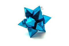 Metal Crystal (Akizhi) Tags: origami modular kusudama paper art crafts folding