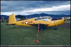 SAAB91 SAFIR SK50 3F-SR 455 Zeltweg juin 1997 (paulschaller67) Tags: saab91 safir sk50 3fsr 455 zeltweg juin 1997