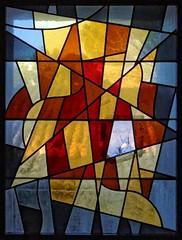 Monastère Saint-Paul de Mausole à Saint-Rémy de Provence (Denis Krieger) Tags: vitrail vitrais stained glass window vetrata colorata glasmalerei farbfenster