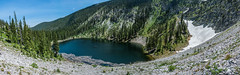 San Leonardo Lake Panorama (thomas.hartmann496) Tags: alpine blue boulder boulders clear cliff cliffs cloud clouds grand green high hill lake lakes landscape mountain mountains natural nature pine rock rocks sky snow sunny tree trees water weather white