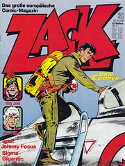 ZACK / 1980 Nr. 31 (micky the pixel) Tags: comics comic heft koralleverlag zack albertweinberg dancooper pilot militär jet düsenjäger rcaf