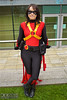 IMG_5722-2.jpg (Neil Keogh Photography) Tags: hero dickgrayson baton dc robe boots bulletbelt gold pants dccomics comics red female utilitybelt new52 cloak jumpsuit top mask batman cosplay redrobin black bullets cosplayer yellow bat robin