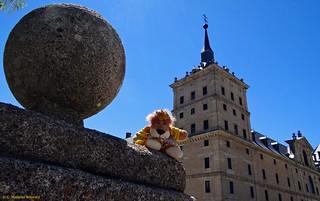 Leoncia en El Escorial, Madrid.