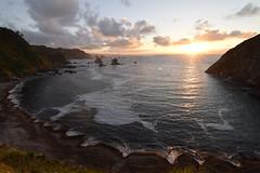 _DSC0659 (Nacho_71) Tags: mar cantabrico playa playadelsilencio asturias norte sol puestadesol paisaje