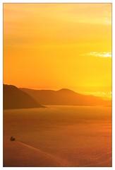 Voldsfjorden - - Sunset time (erlingsi) Tags: voldsfjorden sunnmøre sunset solnedgang volda noreg norway kveld evening ferry ferge lauvstadferga ferga ferje kaldsethola