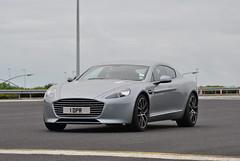Aston Martin Rapide S (D's Carspotting) Tags: aston martin rapide s france coquelles calais grey 20140615 1dpr le mans 2014 lm14 lm2014