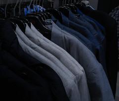 tone (dimatime37) Tags: cloth shop blue textile texture tissue nikon