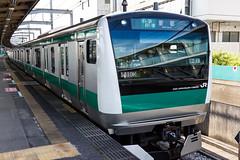 Saikyo Line E233-7000 series 001 (A.S. Kevin N.V.M.M. Chung) Tags: train rail japan omiya jr