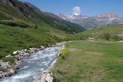 Haute vallée de l'Isère (bernarddelefosse) Tags: isère rivière savoie rhônealpes montagne