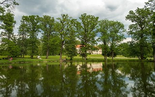 lake & castle - Lužnica (04)