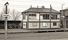 Harlington (Lost-Albion) Tags: harlington bedfordshire signalbox tsbg pentax 1977