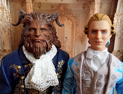 Prince Adam (Dan Stevens) Repaint (Lagoona89) Tags: disney live action beauty beast batb dan stevens prince adam repaint ooak doll custom