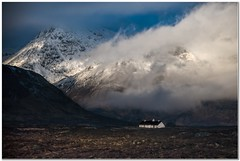 Mountain Croft (Hugh Stanton) Tags: mountain snow croft cottage cloud appicoftheweek