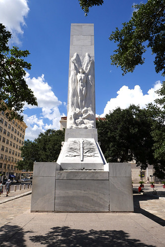 Alamo Cenotaph Front