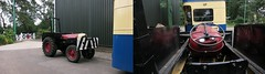 June 2017 - Different Angles at East Anglia Transport Museum. (RTW501) Tags: yte826 ashtonunderlynecorp but bondbody trolleybus 795flk fordsonsupermajor tractor steeringwheel