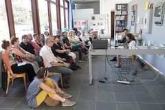 photoset: Salon für Kunstbuch: Marie Rotkopf & Uli Aigner @ 21er Haus Sommerfest (7.7.2017)