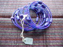 Ceramic and bead twirled bracelet (udpasc) Tags: kenya nairobi udp asc urbandevelopmentprogramme allsaintscathedral july2017 collection craft sale bracelet ceramic twirl