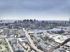 Boston skyline (silky07) Tags: ariel drone boston djimavic dji