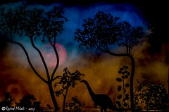 dinosaure smart light painting paysageimaginaire... (Photo: Rached MILADI -رشاد الميلادي on Flickr)