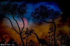 dinosaure smart light painting paysageimaginaire... (Photo: Rached MILADI -رشاد الميلادي on Flickr)