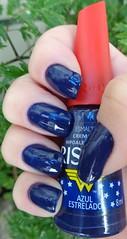 Azul Estrelado - Risqué (Marli 2011) Tags: risqué coleçãomulhermaravilha
