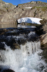Blue_White (erling.berge) Tags: waterfall montain snow