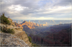 View from Bright Angel Point (Explored) (Runemaker) Tags: grandcanyon northrim brightangelpoint arizona nature solitude sky clouds