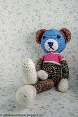 Amigurumi (El Gato sobre el Tejado) Tags: crochet amigurumi peluches plush manualidades crafts hechoamano handmade oso bear teddybear ositodepeluche